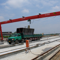 5t Single Girder Electric Gantry Crane